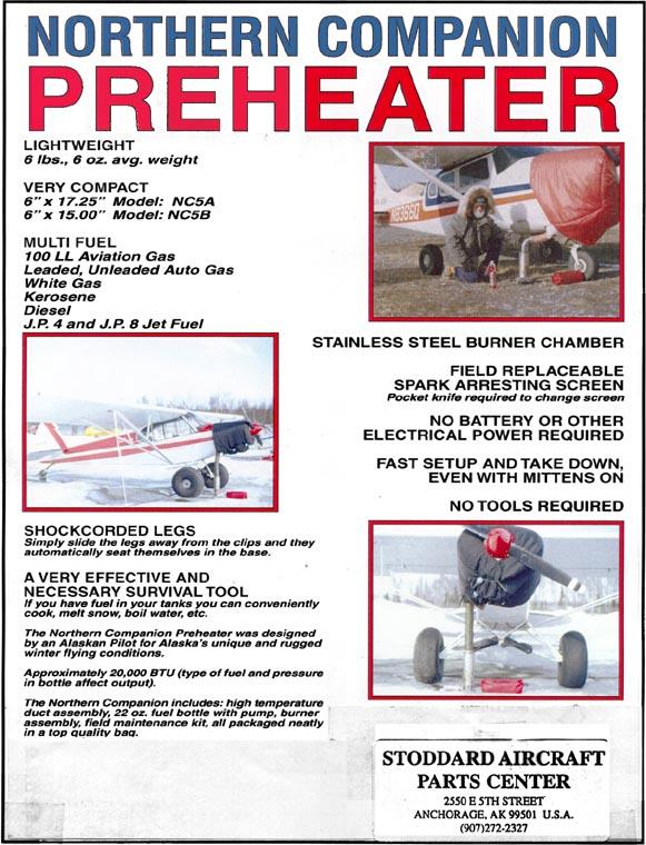 Stoddards Aircraft Parts Center - Winter Products